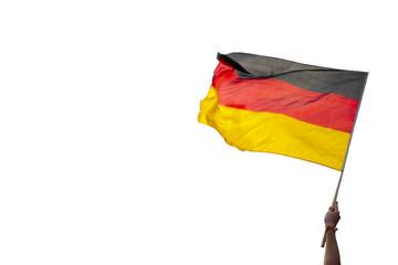 waving flag germany