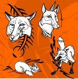 Fox and Spikes.Predators. poster