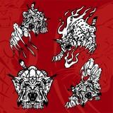 Lynx and Flame.Predators. poster