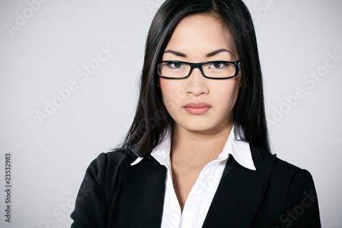 Femmes asiatiques avec des lunettes