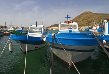 favignana's fisherman boat