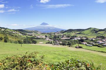 Landscape of Faial, Azores