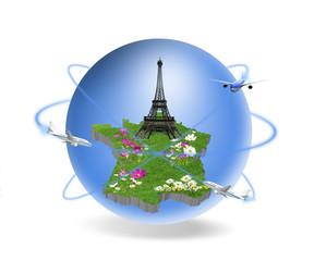 France Paris Tour Eiffel Voyage