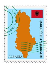 mail to/from Albania