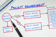 Business Project Management Planning Diagram