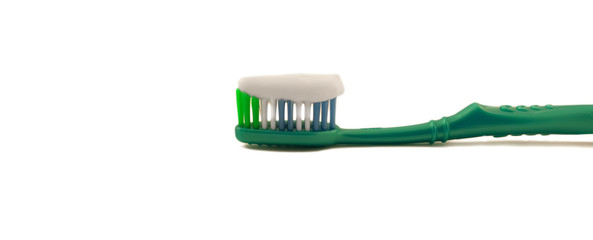 Tooth-brush with paste