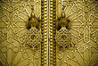Leinwanddruck Bild - Марокко,Золотые ворота дворца