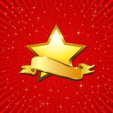 Fototapety Golden Star.