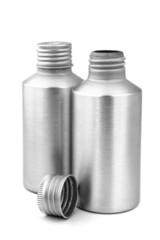 Grey Metal Bottles