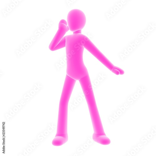 calling_pink