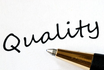 Quality is an important element in success