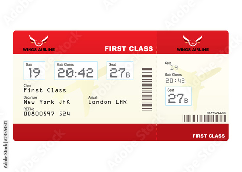 plane tickets first class