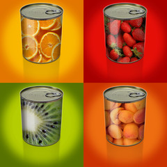 conserves fruits