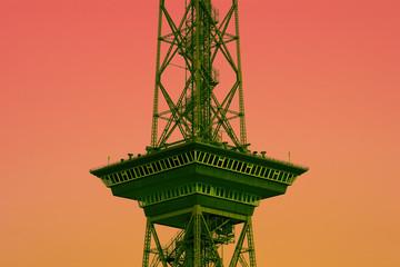 Berliner Funkturm, Aussichtsplattform
