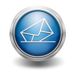 Icono borde metalico correo