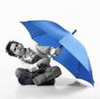 bambino con ombrello
