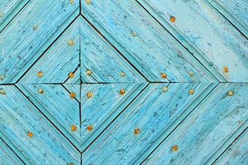 Ausschnitt aus mittelalterlicher Holztür