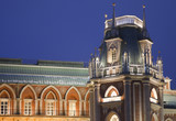 Evening tower of State historical museum reserve Tsaritsyno