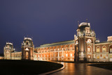 castle of State historical museum reserve Tsaritsyno, night
