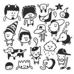 Funny characters set