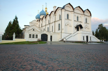 the old church in the kazan kremlin