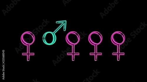 Non-parité femmes/hommes