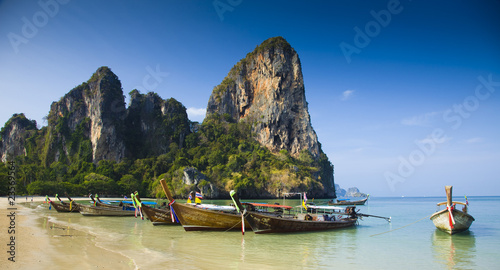 strandszenerie, thailand