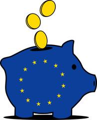 Euro Sparschwein