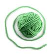 Green thread ball