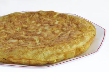 Tortilla de patata Española.