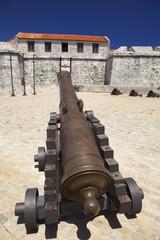 cannone nella fortezza