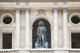 Napoleon statue in the balcony of Les Invalides, Paris