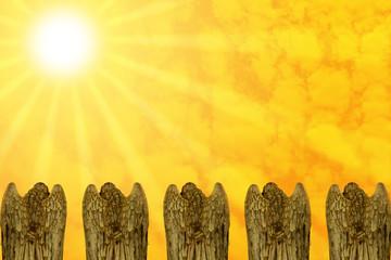 Engel beim Beten