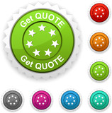 Get quote award. poster