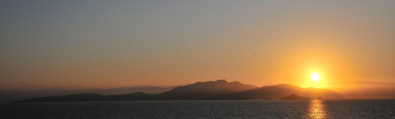 lever de soleil - Sanguinaires Ajaccio