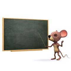 3d Mouse teaches the class
