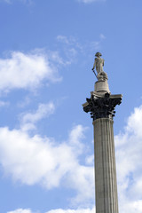 Nelson's column and sky