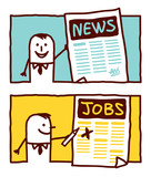 news & jobs ads