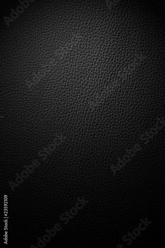 Tuinposter Stof leather texture black