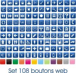set 108 boutons web