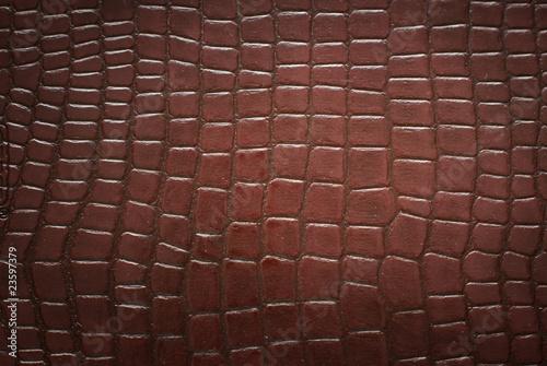Staande foto Leder crocodile skin pattern