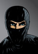 Intense Ninja, thief or special forces.