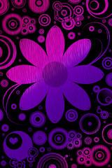 Blumen und Retromotive
