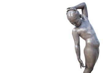 Statua della bambina ballerina