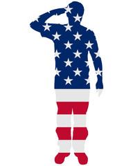Amerikanischer Salut