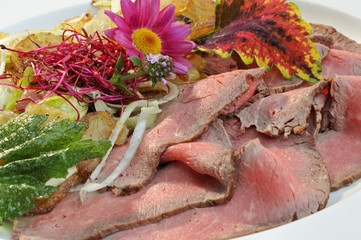 Roastbeef, Essen, Fleisch, Hauptgericht