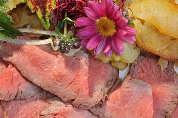 Rostbeef, Essen, Hauptgericht
