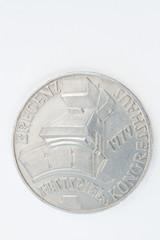 Rückseite einer 100 Schillingmünze aus dem Jahr 1979