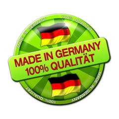 Werbebutton - Made In Germany-100% Qualität (03)