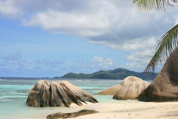 La Digue, Seychellen, Anse Source D'Argent 3
